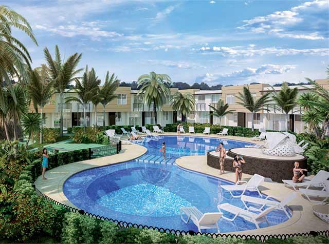 Cabo verde casa en pe alisa ricaurte m2 for Casas vacacionales con piscina