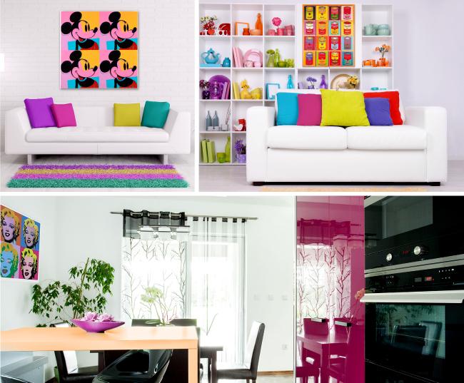 Estrenar vivienda for Muebles pop art