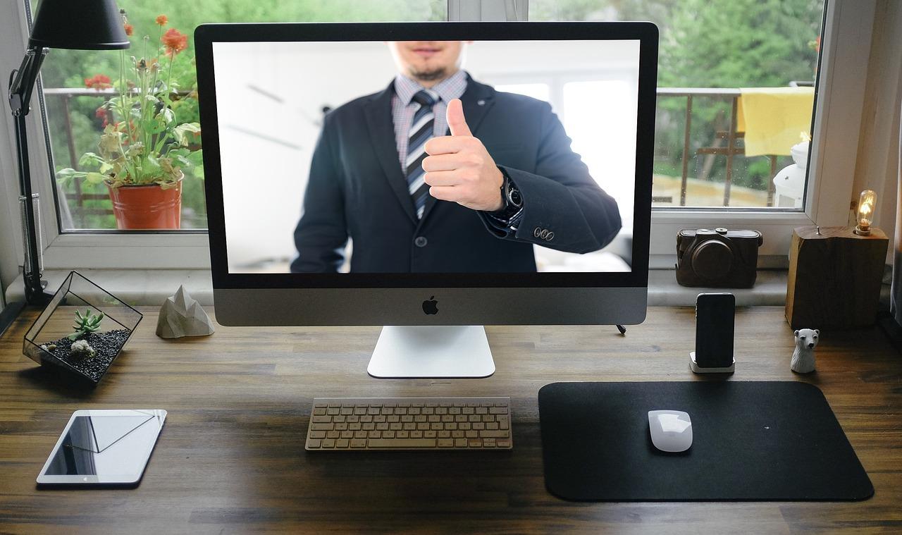 Junta de negocios virtual