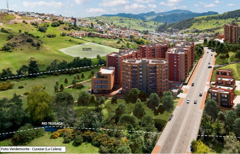 Proyectos de vivienda en La Calera