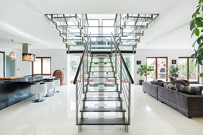 tendencia en escaleras
