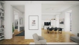 Real Time Visualization. Apartment in Barcelona.