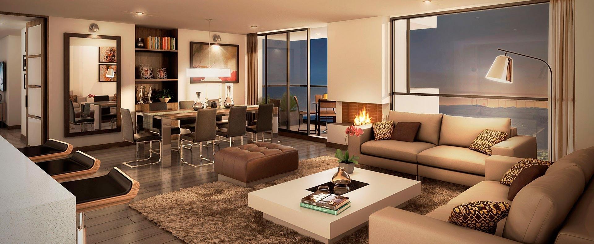 Apartamentos y casas en venta nuevos proyectos de for Vivienda interior