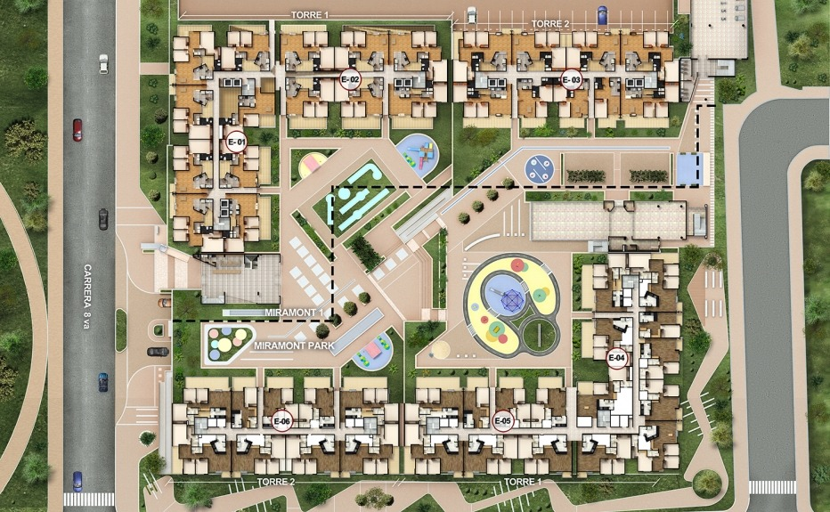 MIRAMONT PARK plano 1