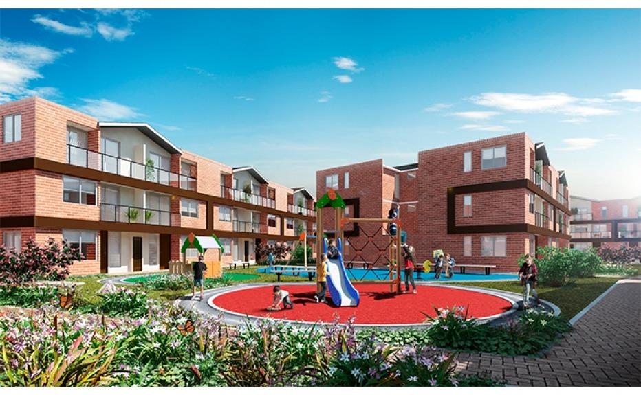 Nogal casa en serrezuela mosquera m2 for Proyectos casas nueva