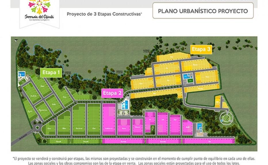 CONDOMINIO CAMPESTRE SERRANIA DEL CHICALA ETAPA II plano 1