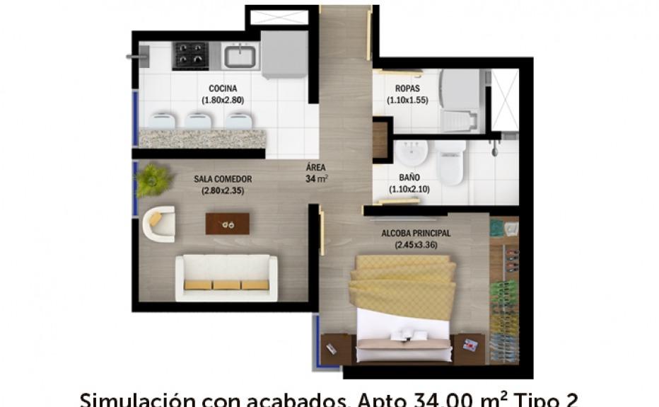 TORRES DEL 20 DE JULIO plano 1