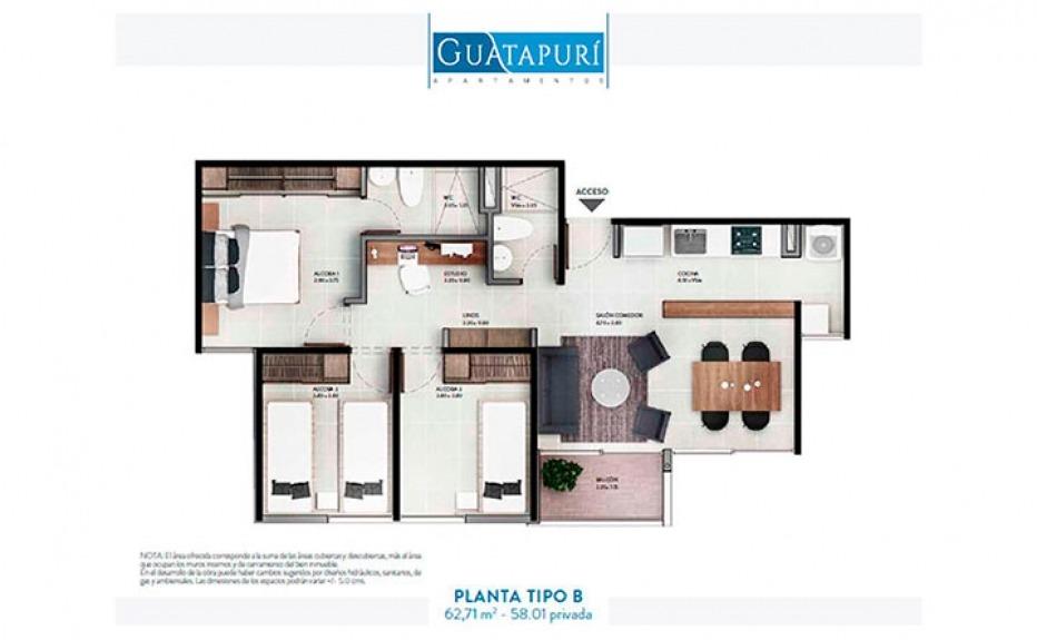 GUATAPURÍ DE LA CUENCA plano 2