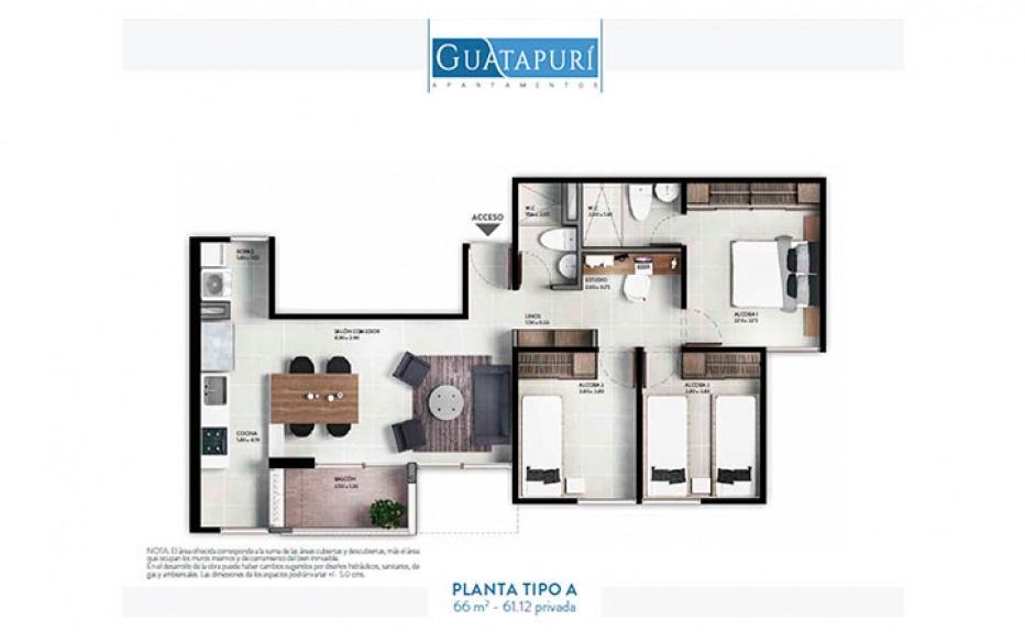 GUATAPURÍ DE LA CUENCA plano 1