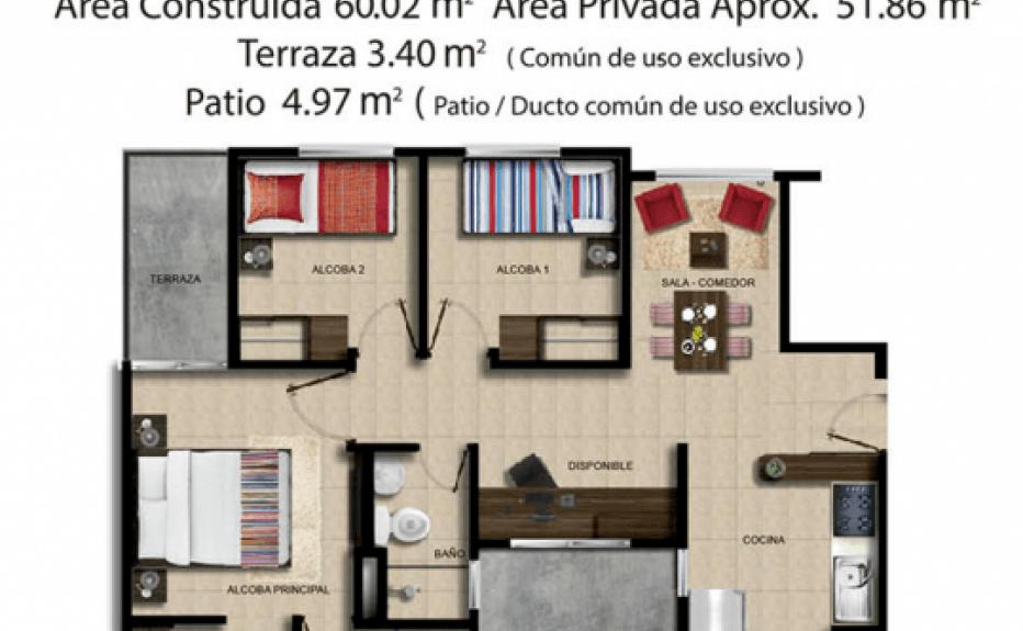 CONJUNTO RESIDENCIAL LA FINCA plano 6