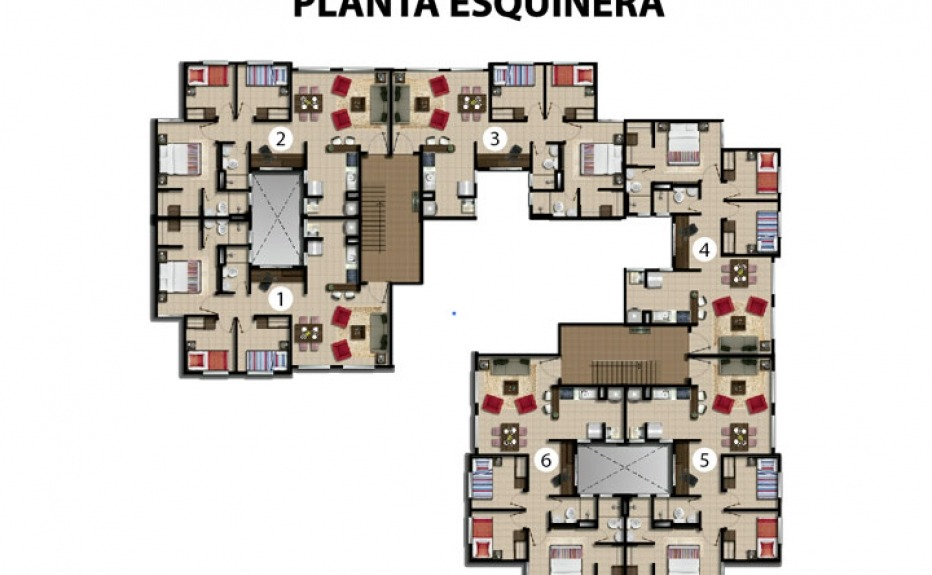 CONJUNTO RESIDENCIAL LA FINCA plano 3