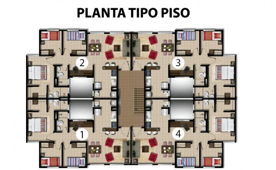 CONJUNTO RESIDENCIAL LA FINCA plano 4