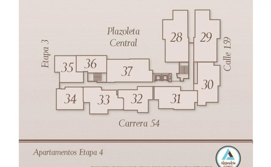 ALEJANDRÍA AZIMUT plano 1