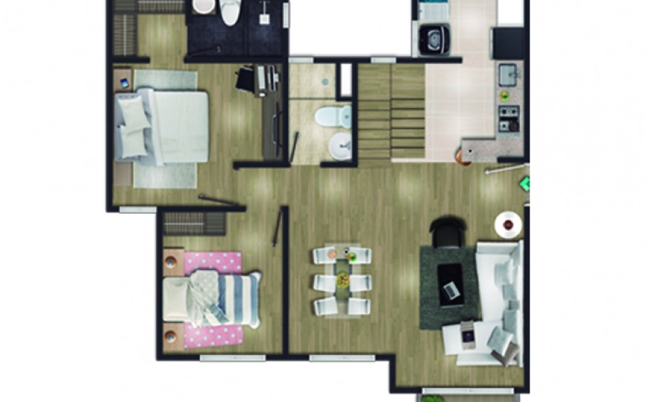 MIRADOR DEL BOSQUE CLUB HOUSE plano 1