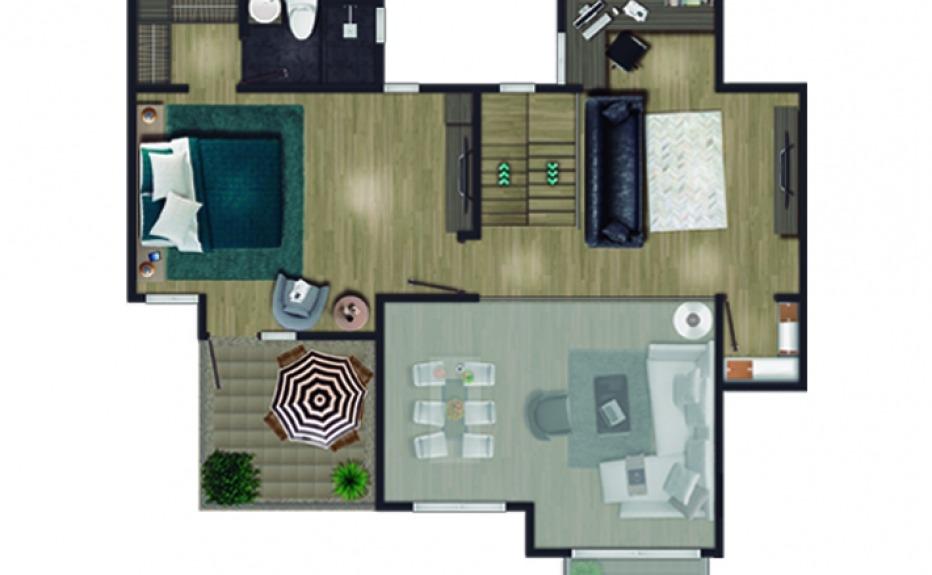 MIRADOR DEL BOSQUE CLUB HOUSE plano 2