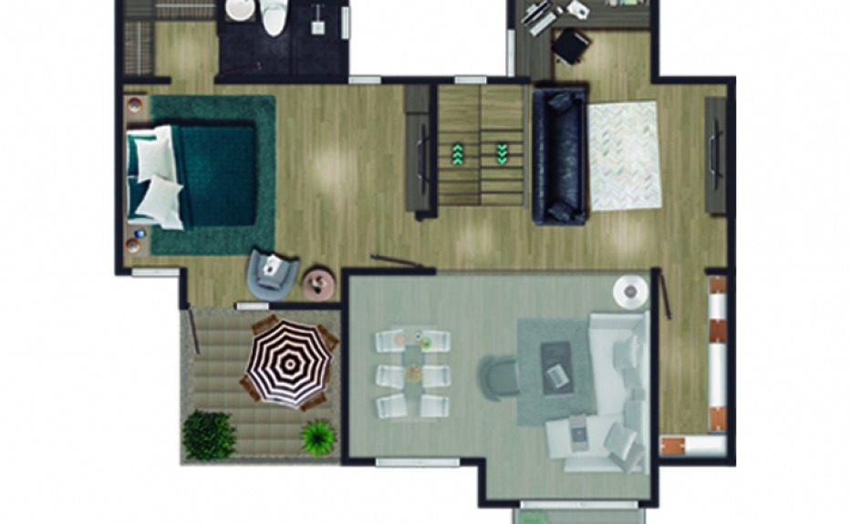 MIRADOR DEL BOSQUE CLUB HOUSE plano 3