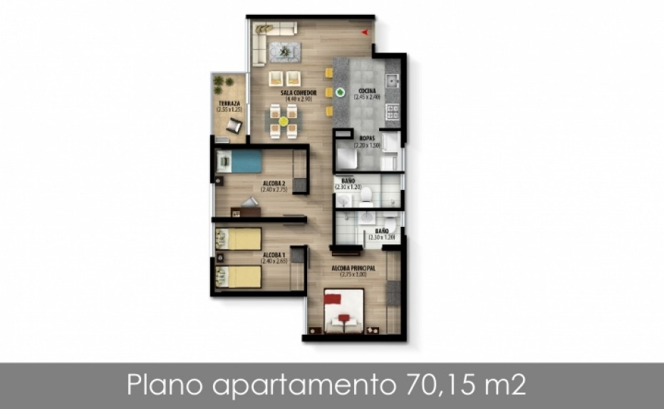TORRE IMPERIAL plano 1