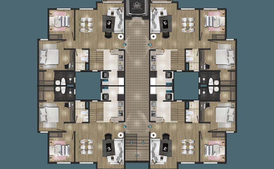 MIRADOR DEL BOSQUE CLUB HOUSE plano 4