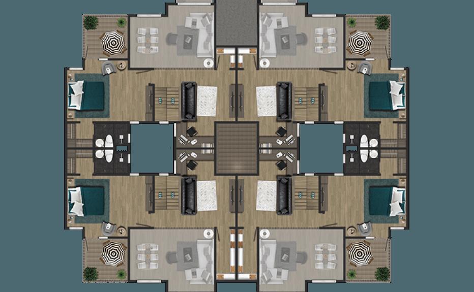 MIRADOR DEL BOSQUE CLUB HOUSE plano 5