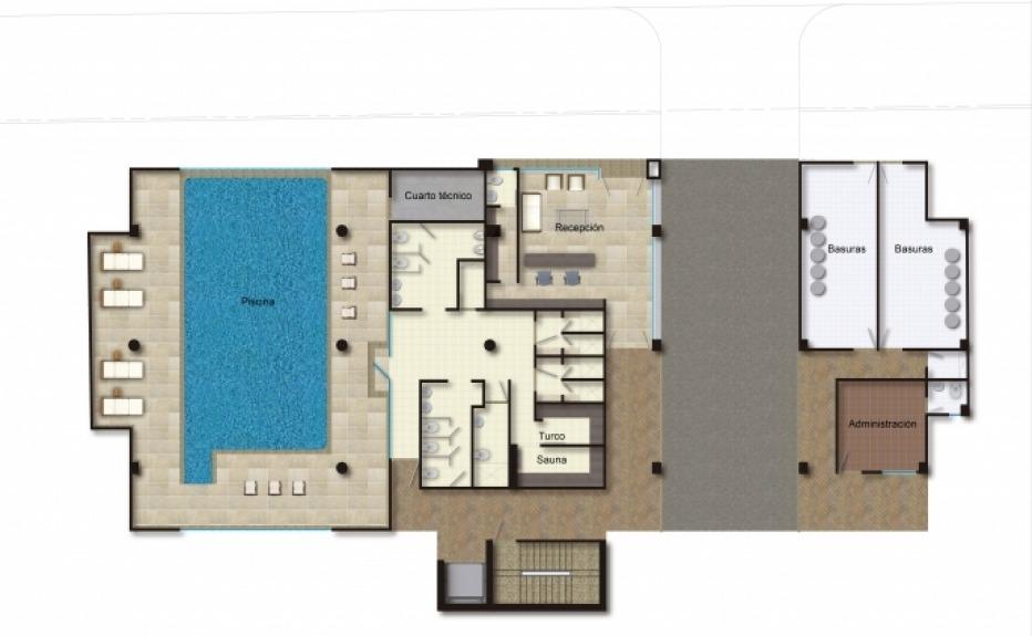 PUERTA DEL SOL I (CLUB HOUSE) plano 2