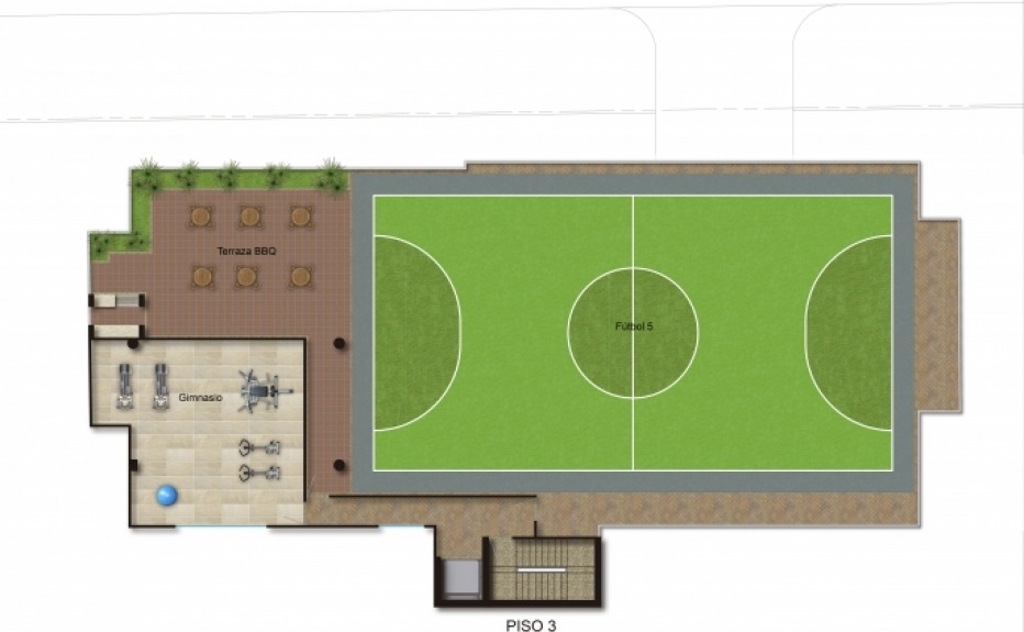 PUERTA DEL SOL I (CLUB HOUSE) plano 3