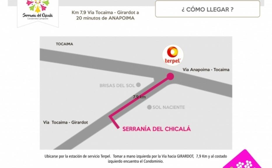CONDOMINIO CAMPESTRE SERRANIA DEL CHICALA plano 4