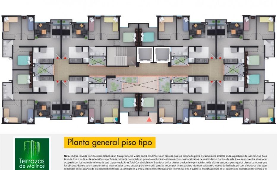 TERRAZAS DE MOLINOS plano 3