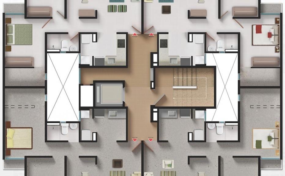 PARAÍSO CARIBE plano 1
