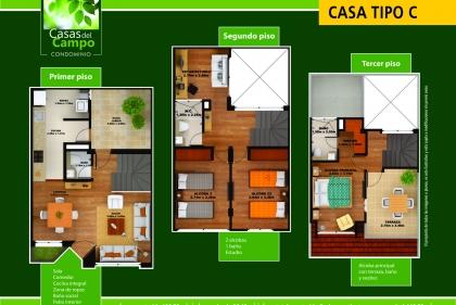 CONDOMINIO CASAS DEL CAMPO plano 7